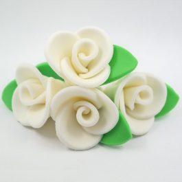 ורד גדול לבן