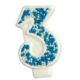 מספר 3 כחול