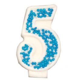 מספר 5 כחול