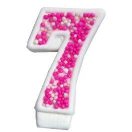 מספר 7 ורוד