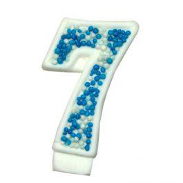 מספר 7 כחול