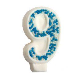 מספר 9 כחול