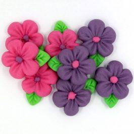 פרח אבקן קטן ורוד סגול